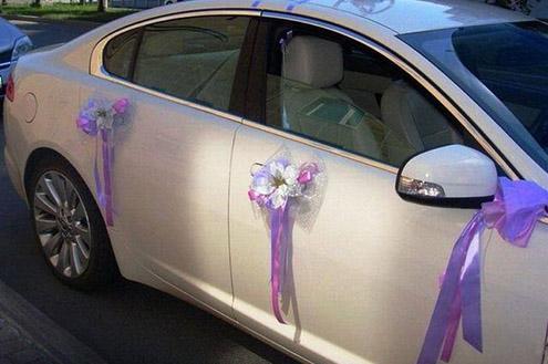 Ленточки на свадьбу на машину